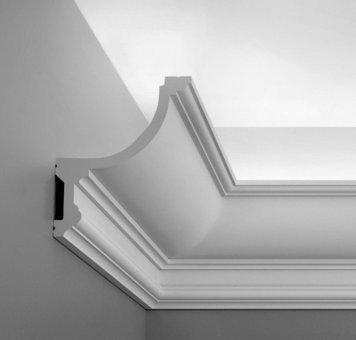 Listwa przysufitowa orac decor c901 sztukateria - Illuminazione design low cost ...