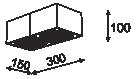 Cleoni Tuz T019X2Sh Plafon Biały 117