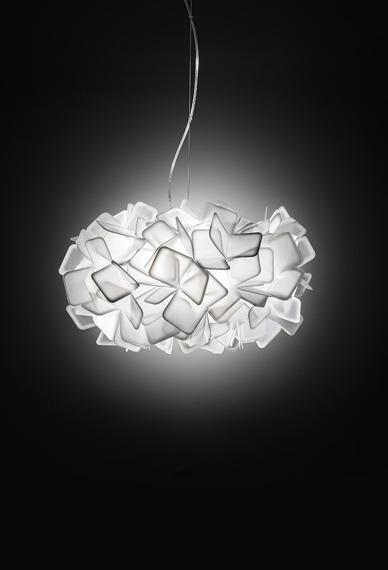 Lampa wisząca SLAMP CLIZIA white 78 cm