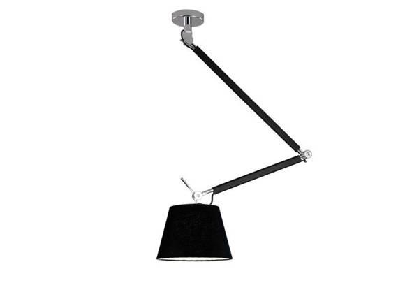 Zyta S MD2300-S PEN BK Lampa Wisząca Azzardo czarna